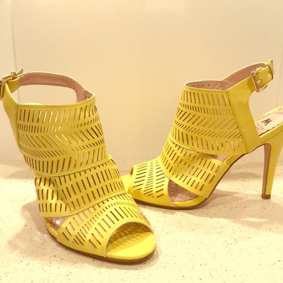 Madison Lemon Yellow Sandals 85